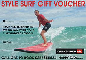 BLANK SURF VOUCHER.