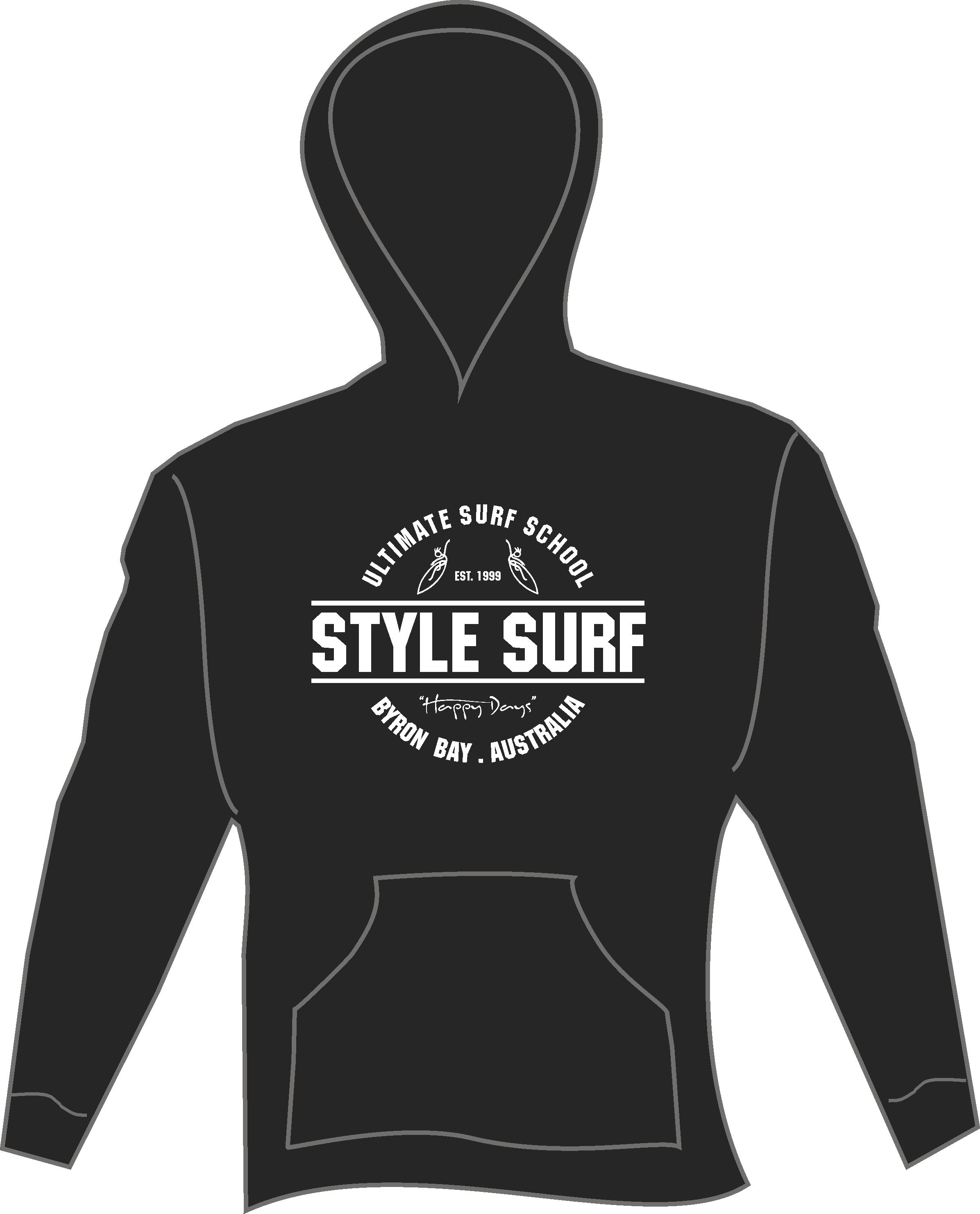 style surf hoodie